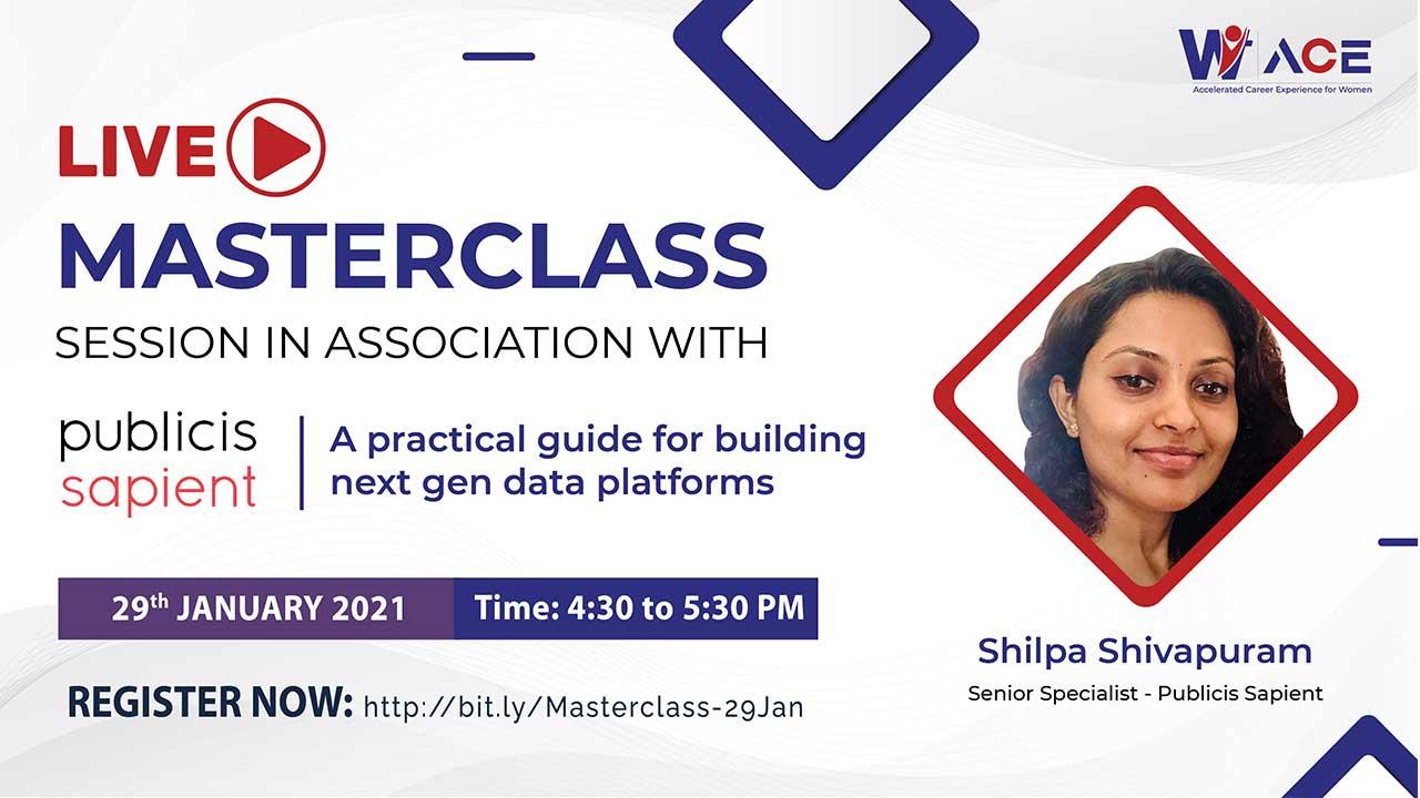 A Live Masterclass with Shilpa Shivapuram