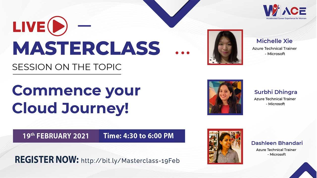 A Live Masterclass with Dashleen Bhandari, Michelle Xie & Surbhi Dhingra