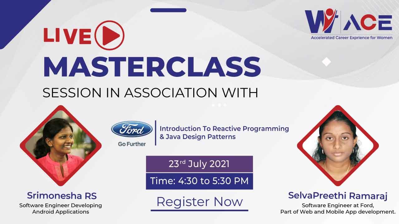 A Live Masterclass with Srimonesha RS and Selvapreethi Ramaraj