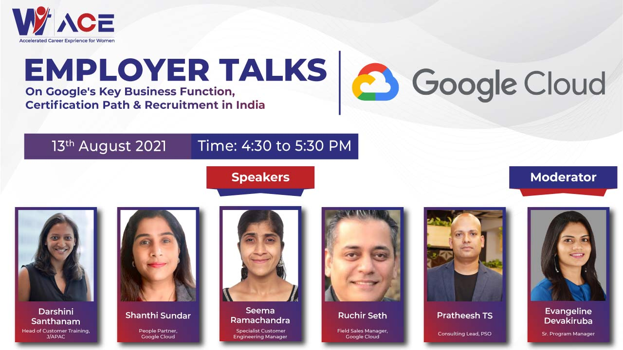 Employer Talks on Google's Key Business Function, Certification Path & Recruitment in India